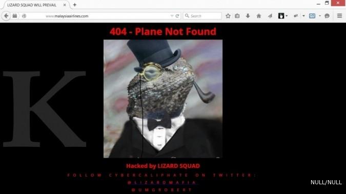 Situs Malaysia Airlines diretas grup afiliasi ISIS