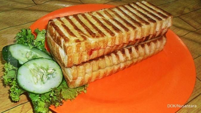 Bisnis roti bakar butuh kehangatan