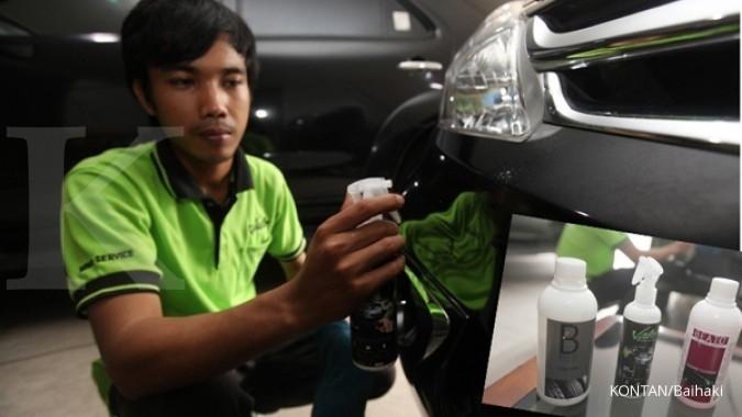 Cuci mobil tanpa air yang tanpa modal besar
