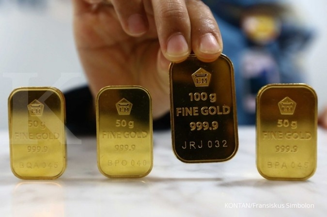 Harga Emas Antam Hari Ini Melonjak Rp 7 000 Jadi Rp 966 000 Per Gram Selasa 8 12