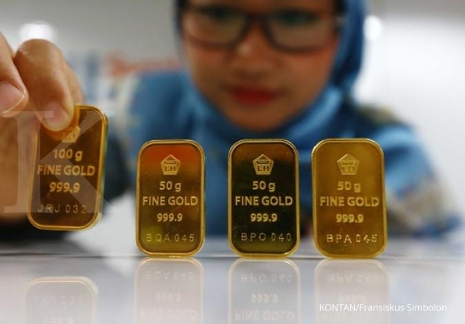Harga Emas Antam Hari Ini Naik Rp 5 000 Per Gram