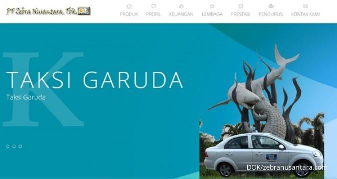 ZBRA Zebra Nusantara (ZBRA) akan menggarap bisnis taksi online