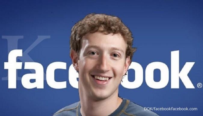 Sejak awal tahun, kekayaan Pemilik Facebook Mark Zuckerberg lenyap US$ 22,1 miliar
