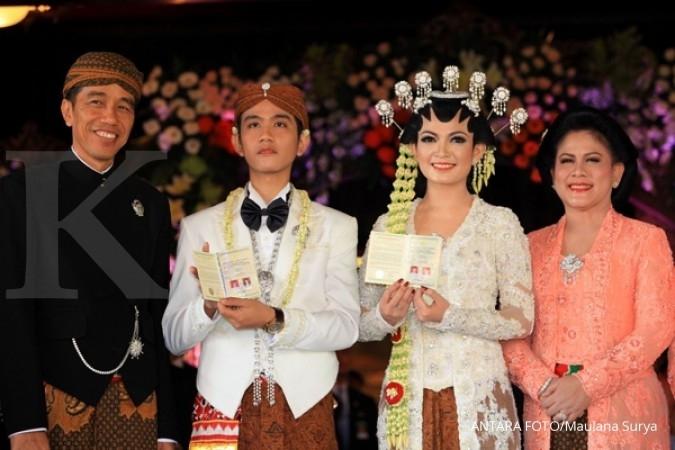 Pernikahan anak Jokowi juga disebut di rekaman