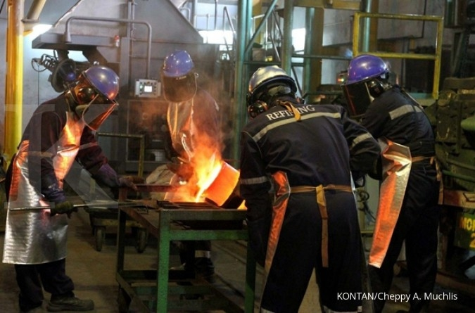 Antam to cut losses and quit steel firm