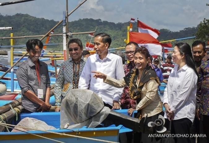 Jokowi: Tinggalkan pola penangkapan ikan lama