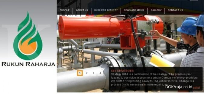 RAJA Rukun Raharja belum merasakan dampak margin 7% pada penjualan gas