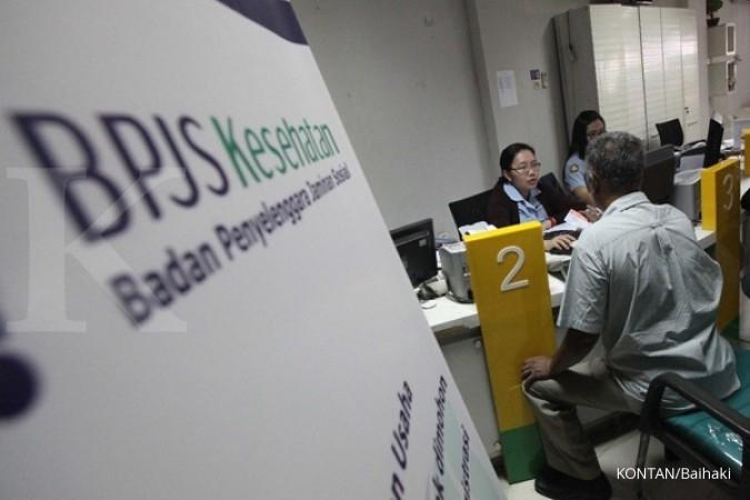 Rasio tunggakan iuran BPJS Kesehatan makin gendut (sumber: kontan)