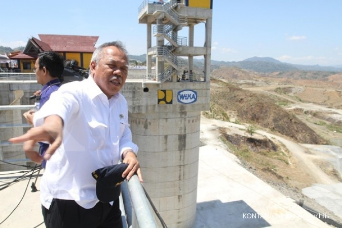 Menteri PUPR cek progres Bendungan Bintang Bano