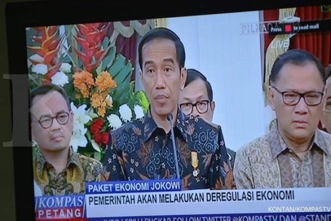 Ini dia paket kebijakan ekonomi dari Jokowi