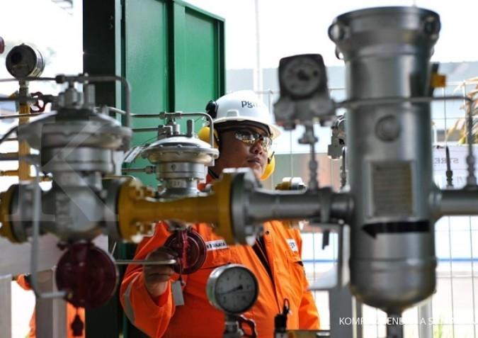Harga gas industri di Sumut turun jadi US$ 9,95