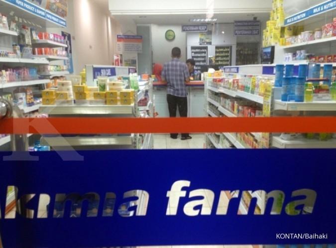 Sepanjang tahun 2019, penjualan Kimia Farma (KAEF) naik 11,1%