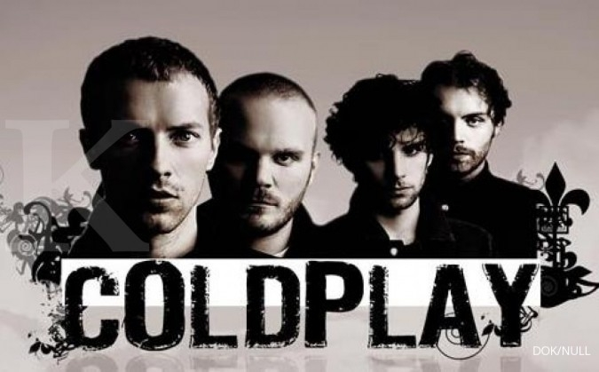 Penonton Indonesia mendominasi konser Coldplay