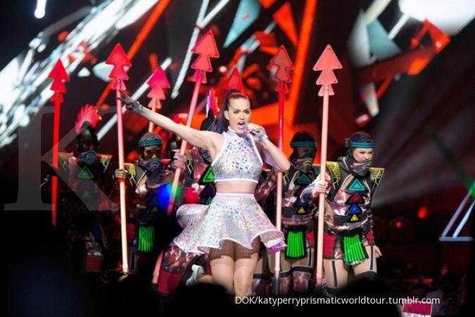 Hore, tiket konser Katy Perry sudah bisa dibeli
