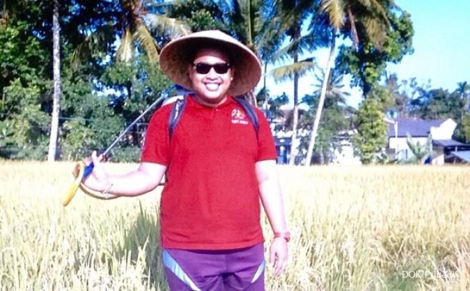 Beras Organik Pembawa Rezeki Ahmed