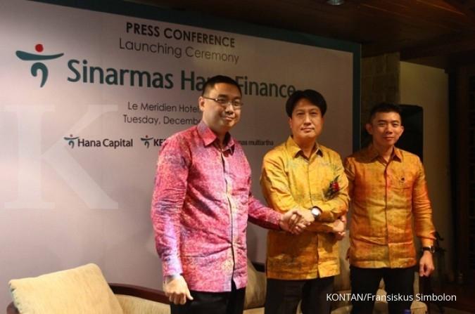 Pembiayaan Sinarmas Hana Finance naik 10% di H1