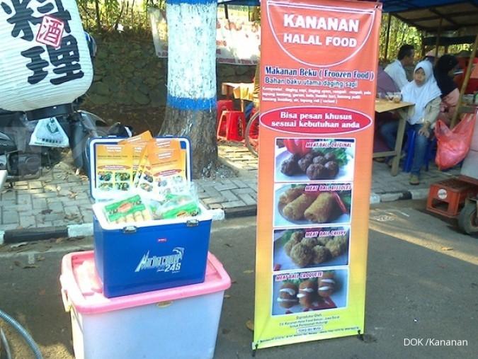 Spanduk Makanan Frozen Food - gambar contoh banners