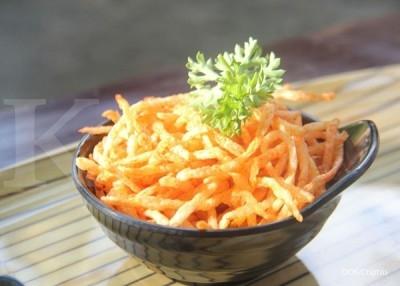 Goreng kentang hingga gosong bikin kanker