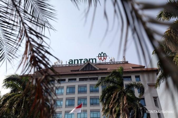 ANTM Harga saham Aneka Tambang (ANTM) turun 1,05%, analis tetap rekomendasikan buy