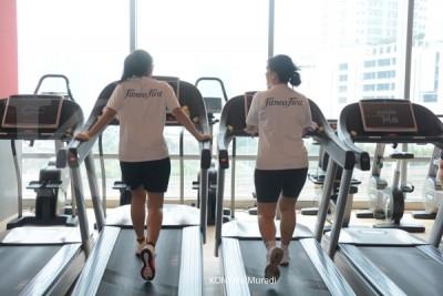 Mana lebih bagus, olah raga di ruangan atau gym?