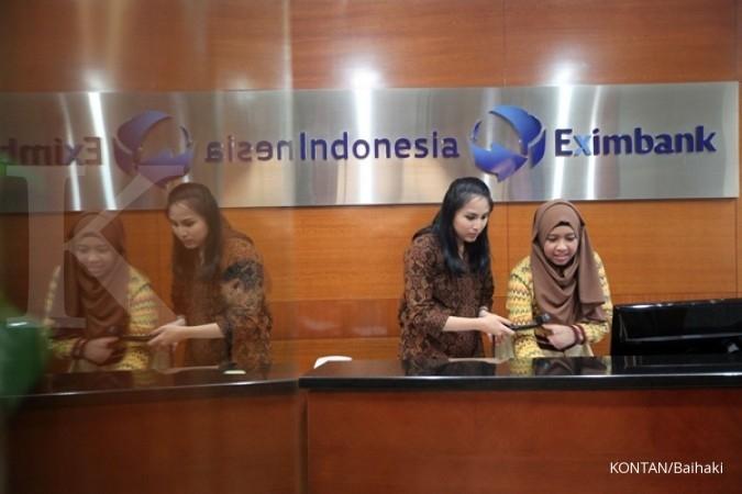 Margin bunga bersih Eximbank menurun