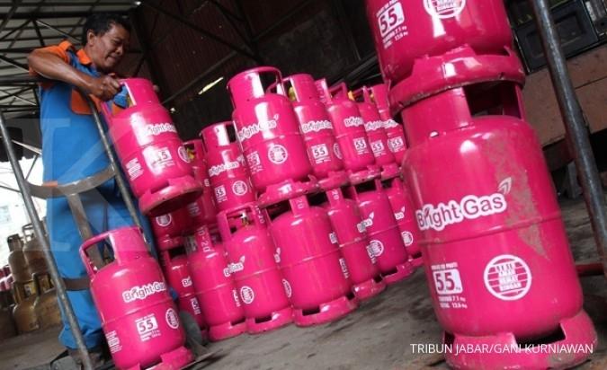 Pertamina luncurkan Bright Gas 5,5 kg di Sumbar