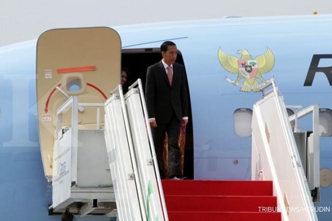 Terbang ke Solo, Jokowi resmikan Pasar Klewer
