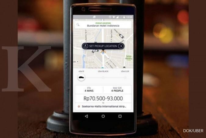 Polisi Surabaya tilang taksi online nakal 1 Juli