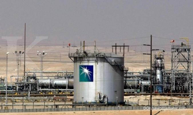 Harga minyak kembali tertekan ke US$ 45