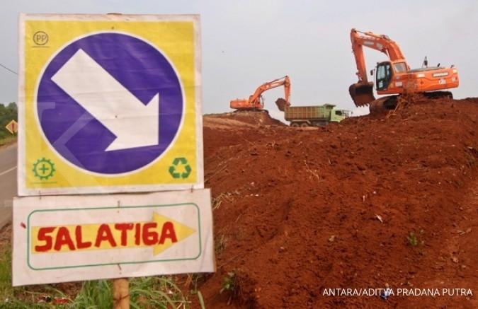 Proyek tol Semarang - Solo dikebut