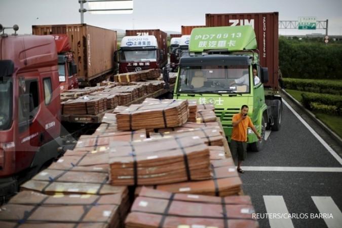 Produksi tembaga China naik 6,8%