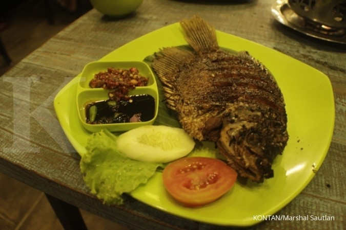 Melahap ikan bikin pintar dan tidur nyenyak?