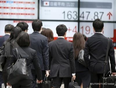 Jelang pidato Yellen, bursa Asia melaju