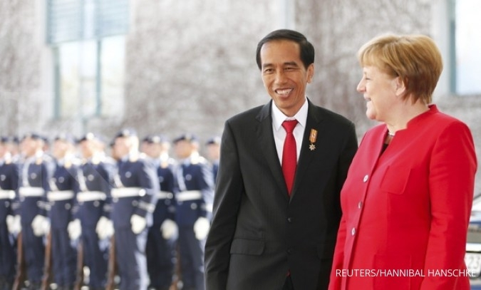 Jokowi convinces German businesses to invest