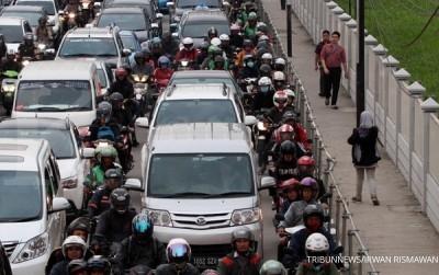 Indonesia, negara yang penduduknya malas berjalan