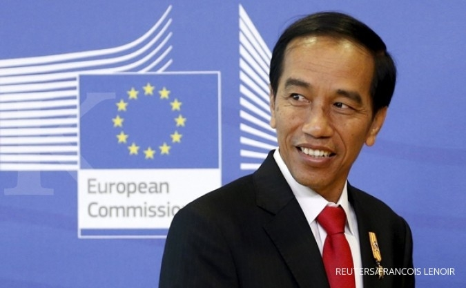 Jokowi visits the Netherlands