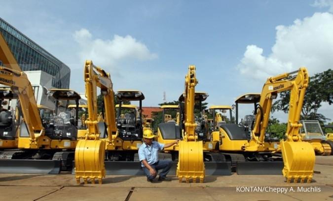 Penjualan alat berat United Tractors lompat 69%