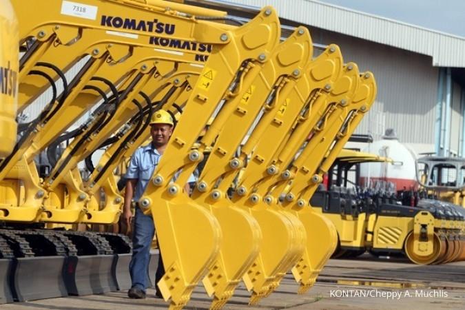 ACST UNTR Laba United Tractor Rp 3,4 triliun di semester I
