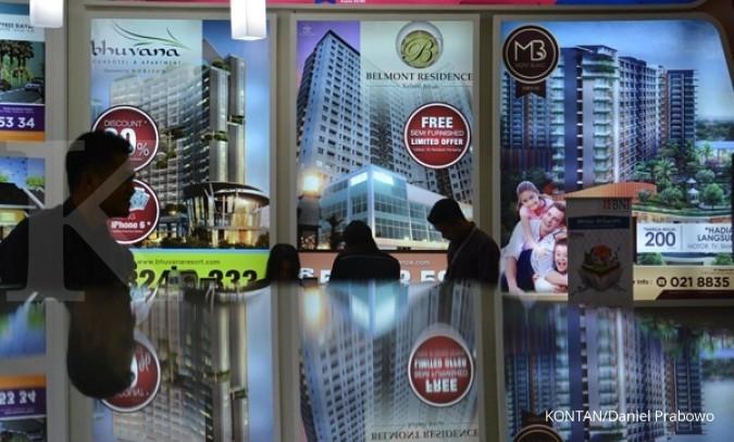 Kelesuan bisnis properti tekan emiten properti