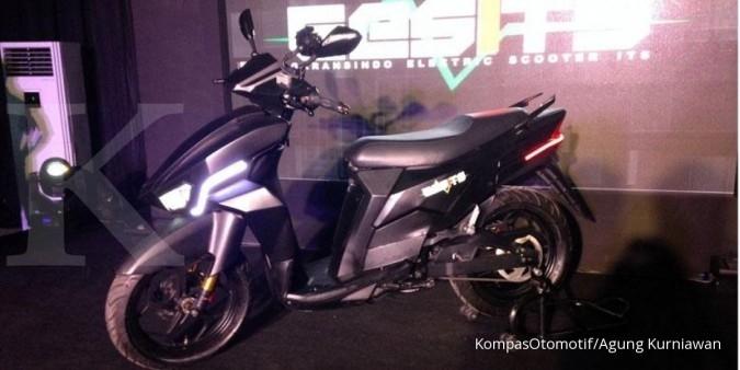 WIKA Sepeda motor listrik Gesits siap diproduksi