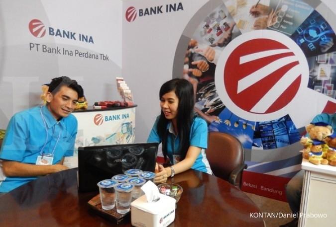 Disalip bank besar, kredit Bank Ina susut 5%