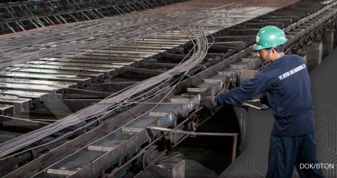 BTON Emiten konstruksi catat kinerja kinclong