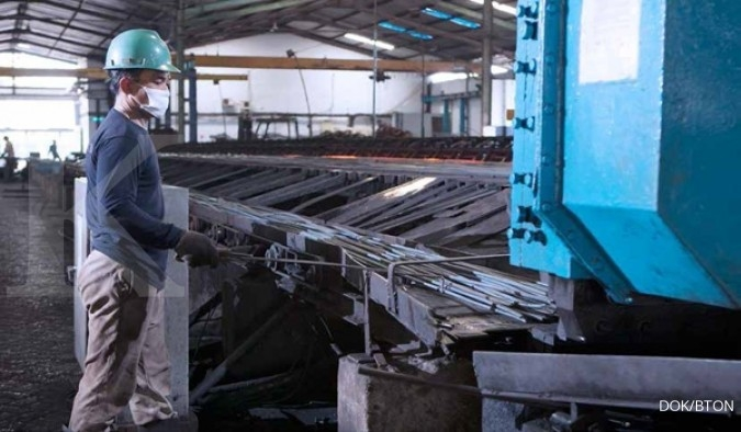 Pasar Besi Beton Lesu, Kinerja Betonjaya Manunggal (BTON) Tidak Sanggup Melaju