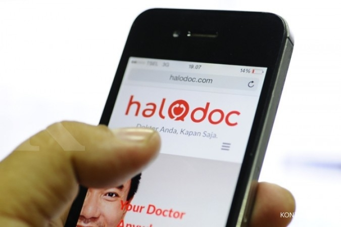 Pertumbuhan bisnis start-up Halodoc loncat 500%