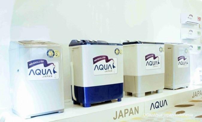 Aqua Japan Lipatgandakan Pangsa Pasar Pada 2018