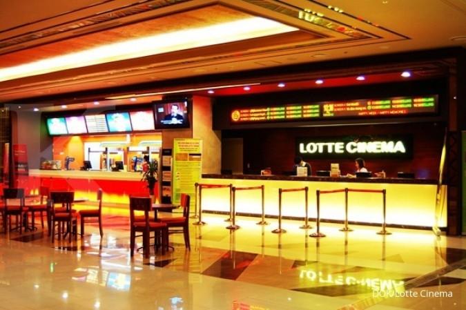 Kantongi izin, Lotte segera buka bioskop perdana
