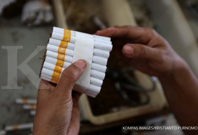 Penjualan rokok nasional susut, pasar HMSP turun