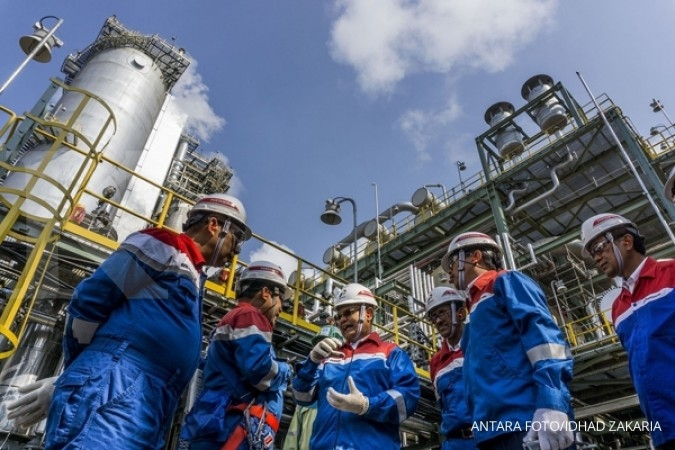 Pertamina can appoint partner to work on Bontang
