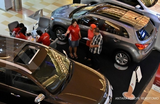 Car sales crept up by 3%