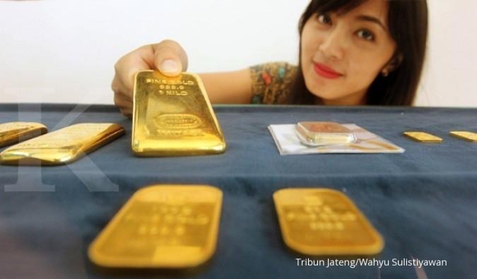 Beli emas Antam kena PPh 0,45%